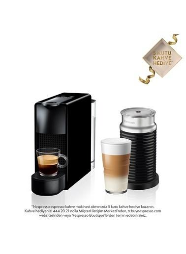 Nespresso Essenza Mini C35 Black Bundle Kahve Makinesi Siyah